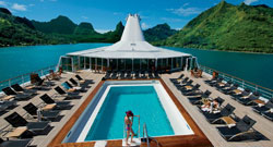 Bora Bora luxury cruise