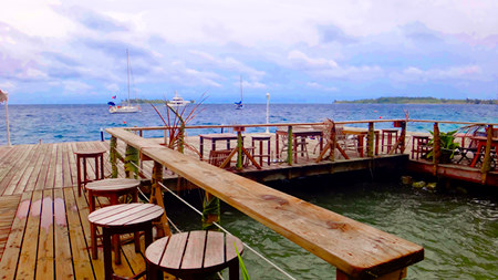 Image result for bora bora yacht club restaurant