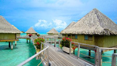 Le Moana Intercontinental Resort Bora Bora