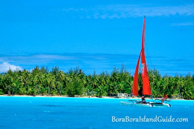 Sailing Bora Bora