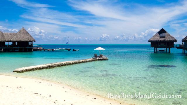 Hilton Bora Bora beach