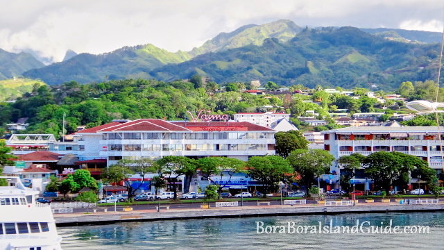 French country gardens - Visiting Papeete On The Main Island Of Tahiti