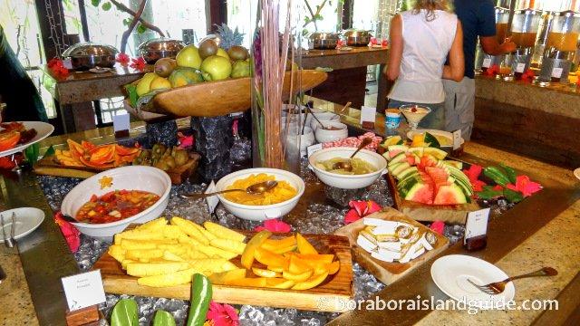 Breakfast buffet at the Intercontinental Thalasso Resort