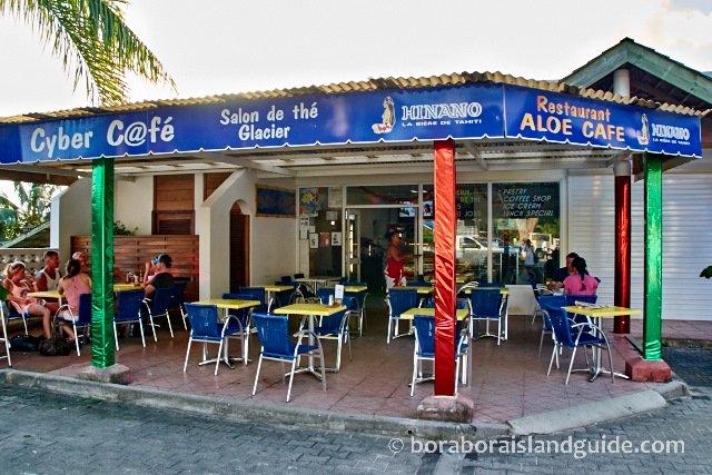 Aloe Cafe in Vaitape