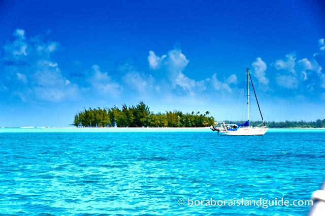 Motu tapu sunny with blue sky