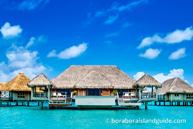 Over water bungalow at the St Regis