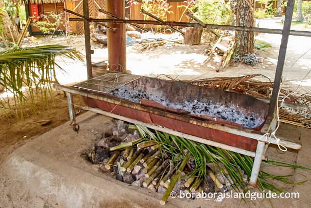 Traditional Tahitian Oven