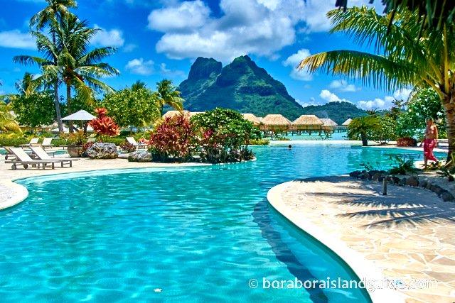 Salt Water Diary Tropical Bedroom Turquoise Paint Beachy: Bora Bora Resorts