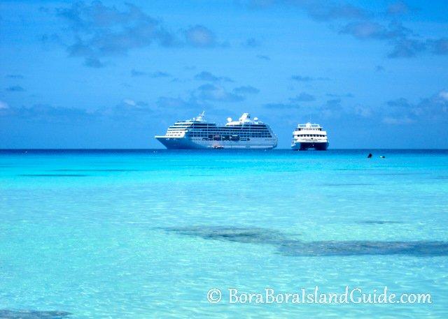 Tahiti cruise ship