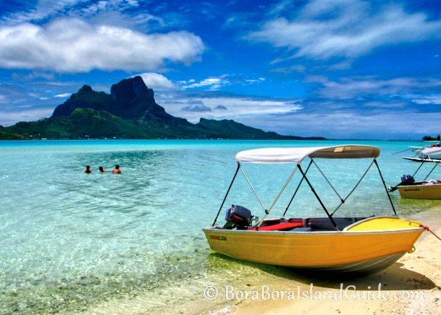 Bora Bora boat hire