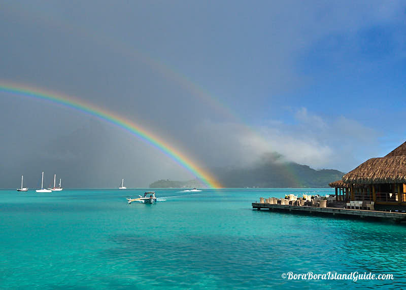 Bora bora weather year round seasons monthly weather chart a passing rain shower in june stopboris Image collections